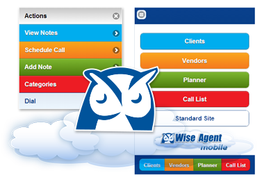 Wise agent real estate marketing contact management transaction